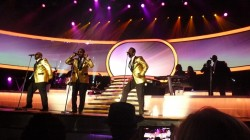 Boyz II Men performing their Motown medley