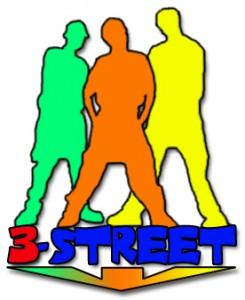 3-Street logo
