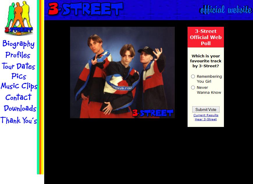 3-Street website