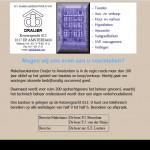 Draijer - info page