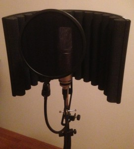 Set up microphone