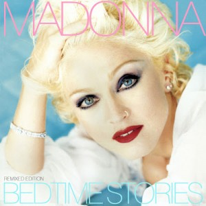 """Madonna """"Bedtime Stories"""" cover"""