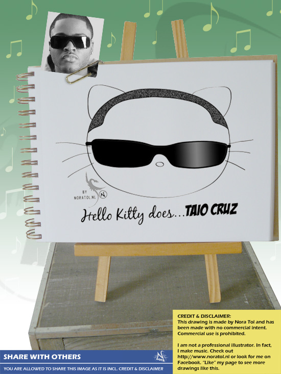 Hello Kitty does Taio Cruz