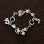 "Bracelet ""Pink Charm"""