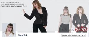 Facebook Grease Theme