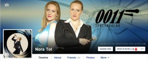 Facebook James Bond Theme