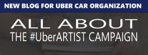 #UberARTIST blog