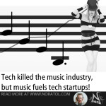Music fuels tech