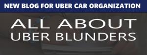 Uber blunders
