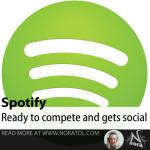 Spotify gets social
