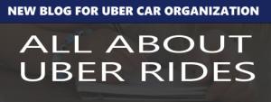Uber rides