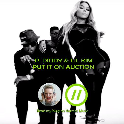 """P Diddy and Lil Kim reunite to put it down on """"Auction"""""""