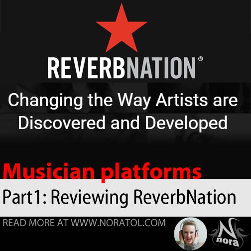 [blog] Looking At Musician Platforms, part 1: ReverbNation