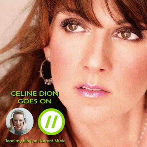 Celine Dion goes on