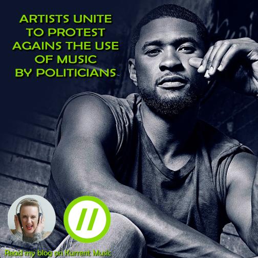 Artists unite against use of music in politics