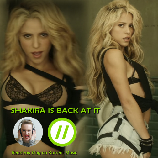 Shakira is back at it