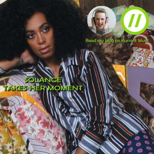 Solange is at the table