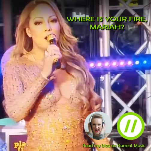 Where's your fire, Mariah Carey?