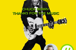 Thanks for the music, Chuck Berry!