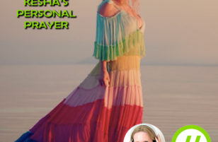 Kesha's back with a personal prayer