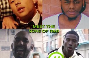 Meet the sons of R&B's bad boys