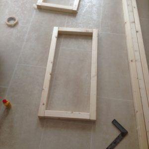 Step 1 - rectangle frame