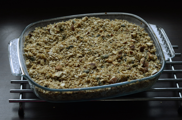 Baked muesli