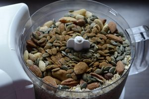 Muesli before mixing