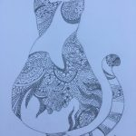 Mandala cat