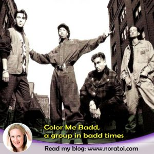 Color Me Badd in its original line-up