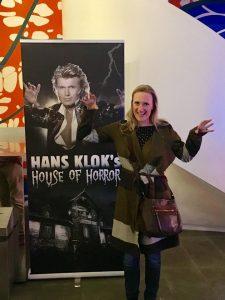 Nora Tol at Hans Klok show