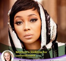 Monica Wants A Commitment