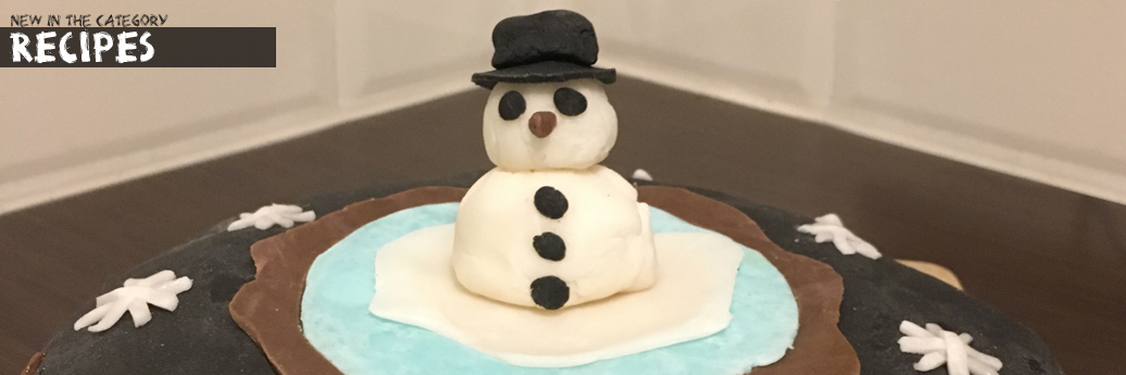 My Mr. Snowman Cake
