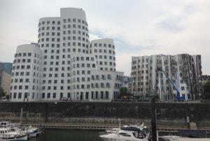 Architecture in Dusseldorf