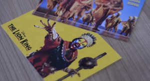 Lion King post cards
