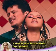 Cardi B and Bruno Mars, yes please!