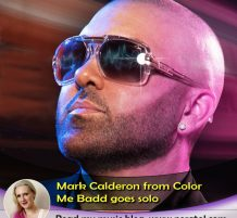 Mark Calderon From Color Me Badd Goes Solo