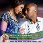 Montell Jordan and wife, Kristin