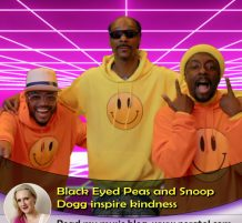 Be Nice To The Black Eyed Peas and Snoop Dogg