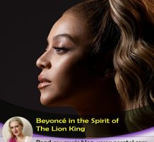 Beyoncé In The Spirit Of Disney's The Lion King
