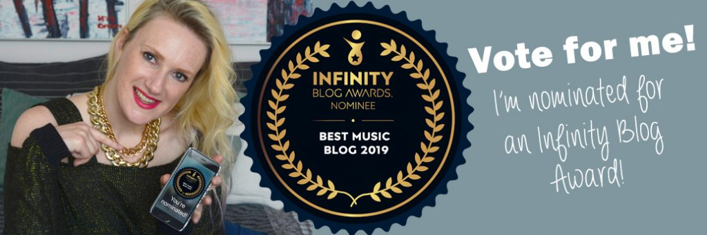 Vote for me! I'm nominated for the Infinity Blog Awards