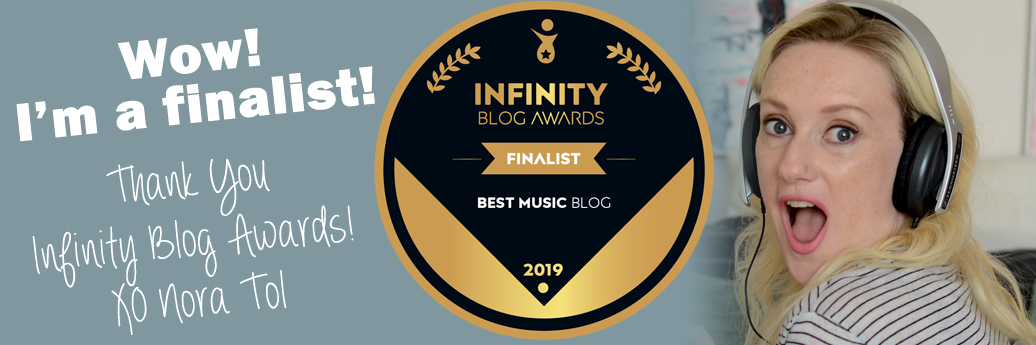 Finalist Infinity Blog Award banner